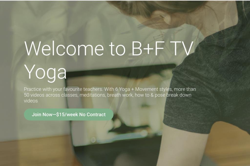 Practice Yoga on BFTV