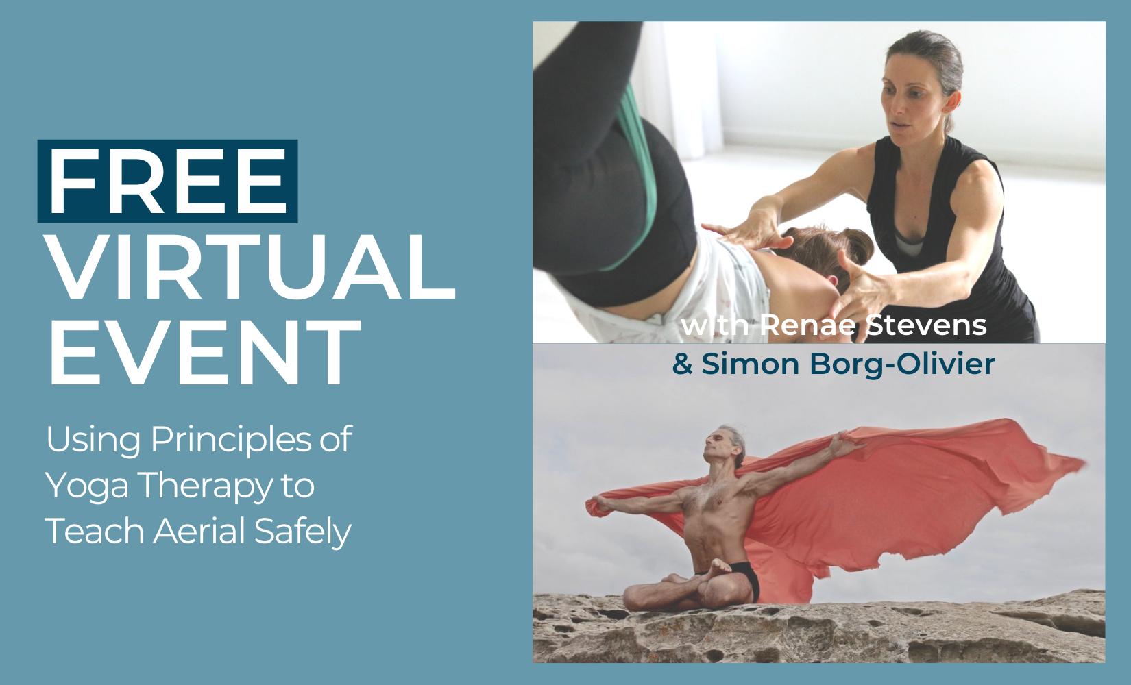 Free Aerial Yoga Webinar